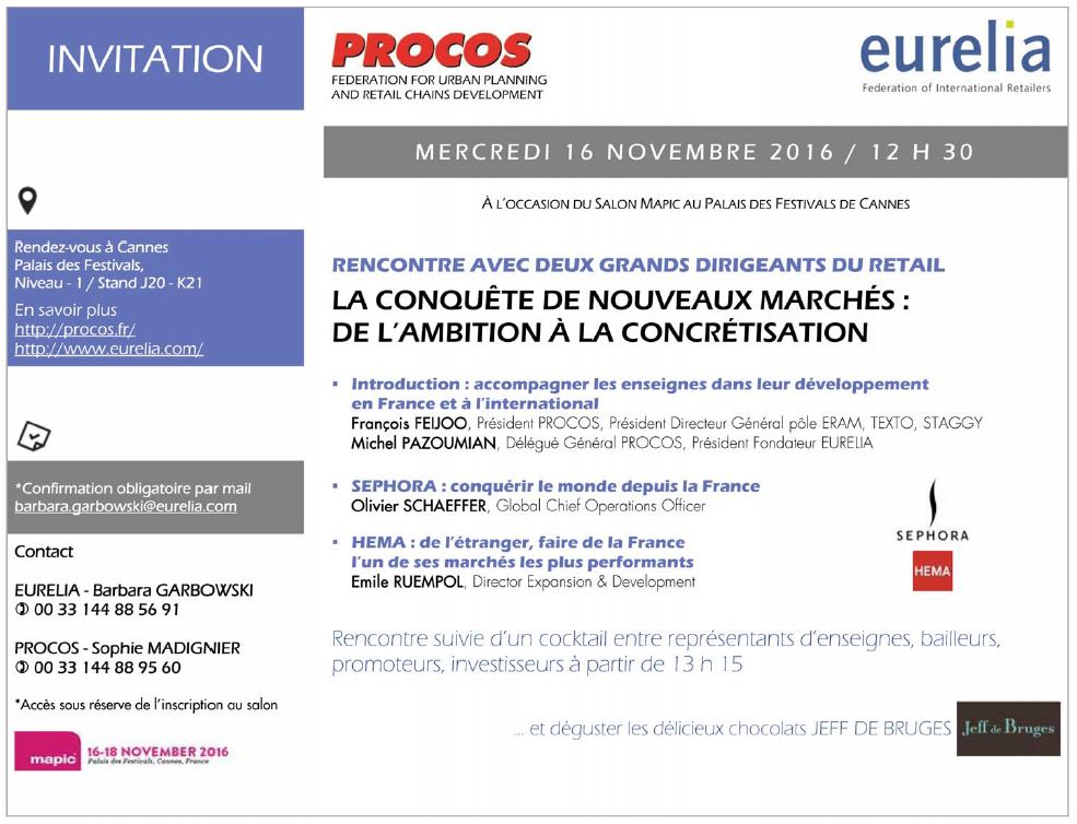 Invitation Fr Procos Eurelia Mapic